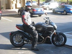 Me and the Ducati Diavel