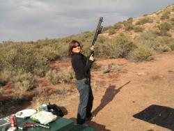 Highlight for Album: Shooting in the desert - Feb 2007