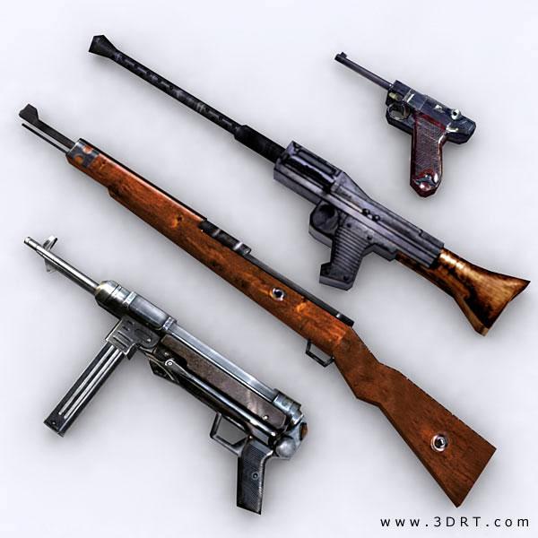 World War 2 German Guns