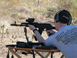 Highlight for Album: Shooting in the desert - Nov 2009