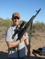 Scott and his awesome AK